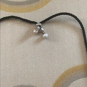 Jewelry - Adjustable Faux Stone & Pearl Pendant Necklace